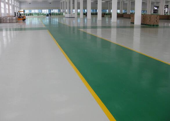 自家厂房是否可以简单的刷地坪漆就行了?